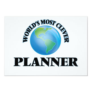 World's Most Clever Planner Card