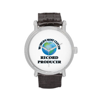 World's Most Clever Record Producer Wrist Watch