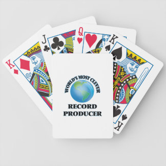 World's Most Clever Record Producer Bicycle Playing Cards