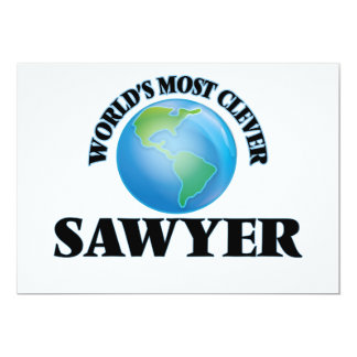 World's Most Clever Sawyer Cards
