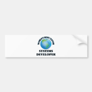 World's Most Clever Systems Developer Bumper Stickers