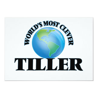 World's Most Clever Tiller Card