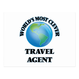 World's Most Clever Travel Agent Postcard