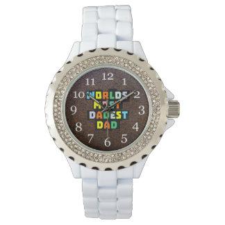 Worlds Most Dadest Dad Wrist Watch