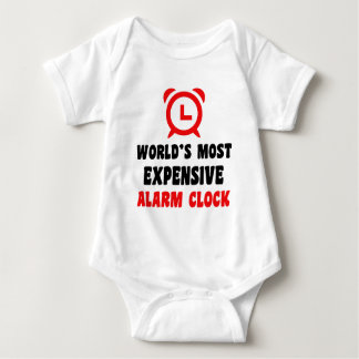 world's most expensive alarm clock baby bodysuit