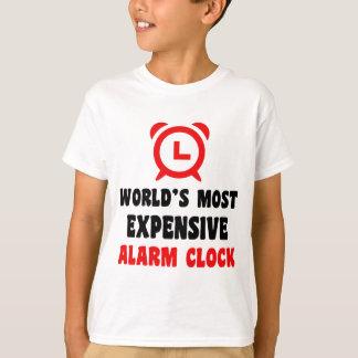 world's most expensive alarm clock T-Shirt