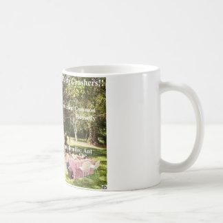 World's most famous party crashers!!! mug