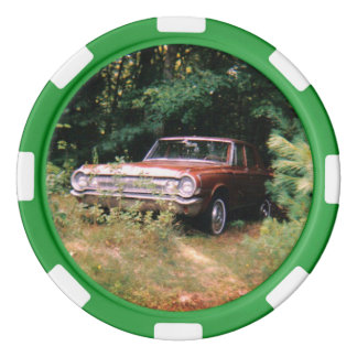 World's Most Haunted Car - The Goldeneagle - 1964 Poker Chips