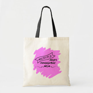Worlds Most Huggable Mom - Mothers Day Gift Bag
