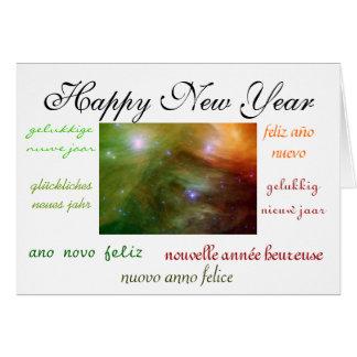World's New Year Card