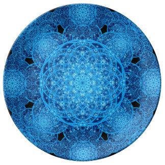 Worlds of Ice Mandala Plate