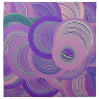 Worlds of Swirls Napkin