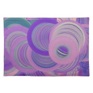 Worlds of Swirls Placemat