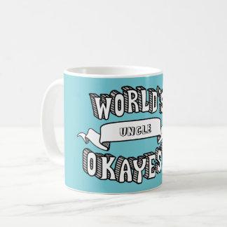 World's Okayest Blank Funny Text Mug