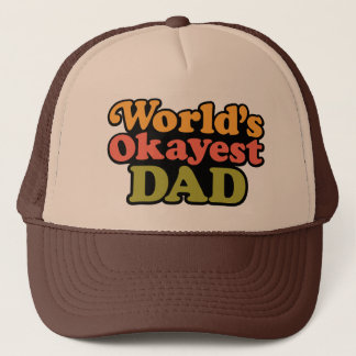 World's Okayest Dad Hat
