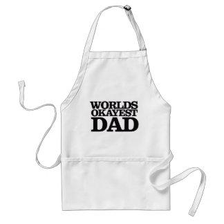 Worlds Okayest Dad Standard Apron