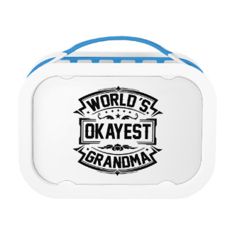 World's Okayest Grandma Lunch Box