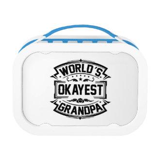World's Okayest Grandpa Lunch Box