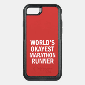 World's Okayest Marathon Runner phone case