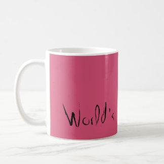 World's okayest mom basic white mug