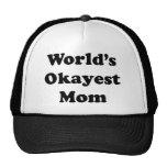 Worlds Okayest Mum Cap