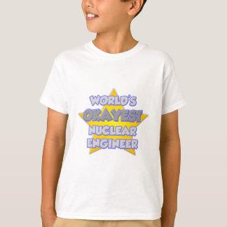 World's Okayest Nuclear Engineer .. Joke T-Shirt