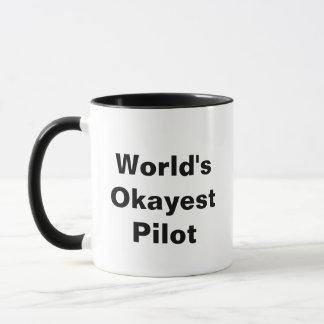 World's Okayest Pilot Mug