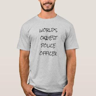 World's Okayest Police Officer Shirt