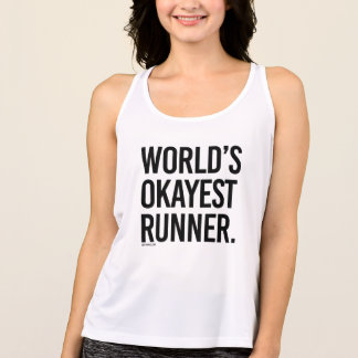 World's Okayest Runner -  .png Singlet