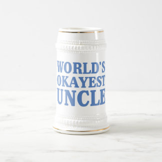 World's Okayest Uncle Beer Steins