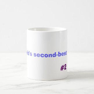 World's second-best dad, #2 coffee mug