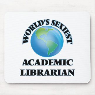 World's Sexiest Academic Librarian Mouse Pads