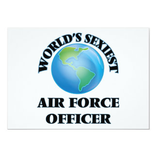 World's Sexiest Air Force Officer Custom Invite