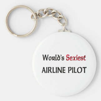World's Sexiest Airline Pilot Key Chain