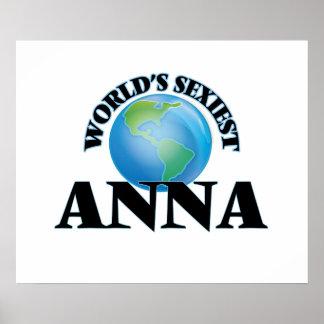 World's Sexiest Anna Poster