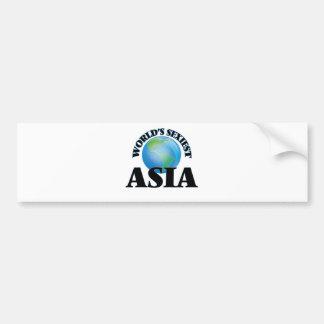 World's Sexiest Asia Bumper Sticker