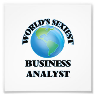 World's Sexiest Business Analyst Photo
