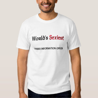 World's Sexiest Careers Information Officer Tees