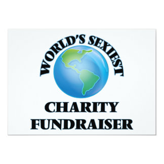 World's Sexiest Charity Fundraiser Personalized Announcement