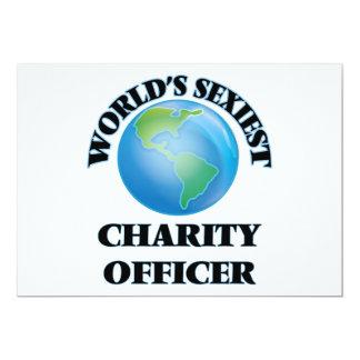 World's Sexiest Charity Officer Custom Invitation
