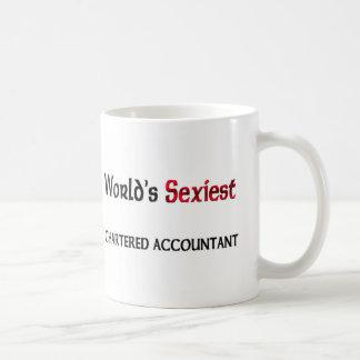 World's Sexiest Chartered Accountant Basic White Mug
