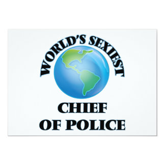 World's Sexiest Chief Of Police Cards