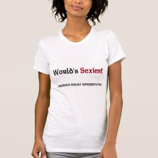 World's Sexiest Children's Resort Representative T Shirt