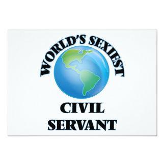 World's Sexiest Civil Servant Personalized Invite