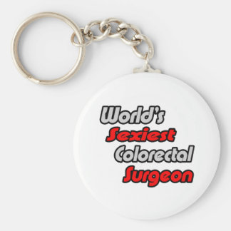 World's Sexiest Colorectal Surgeon Key Ring