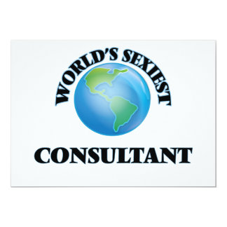World's Sexiest Consultant Card