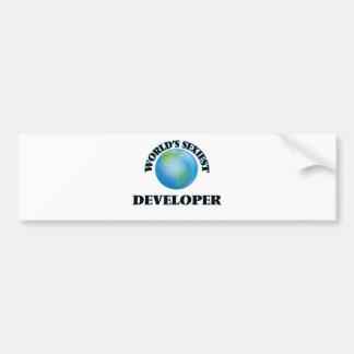 World's Sexiest Developer Bumper Sticker