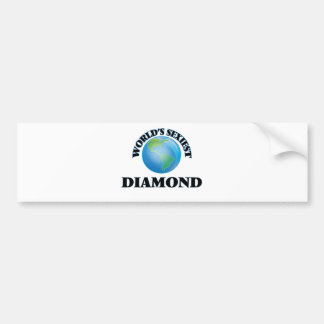World's Sexiest Diamond Bumper Sticker