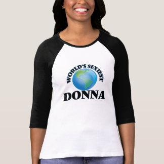 World's Sexiest Donna T Shirt