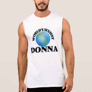 World's Sexiest Donna Sleeveless T-shirt